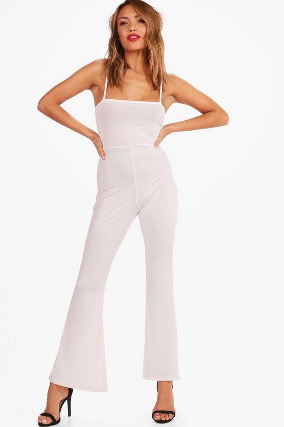 Jeanie Flare Jumpsuit