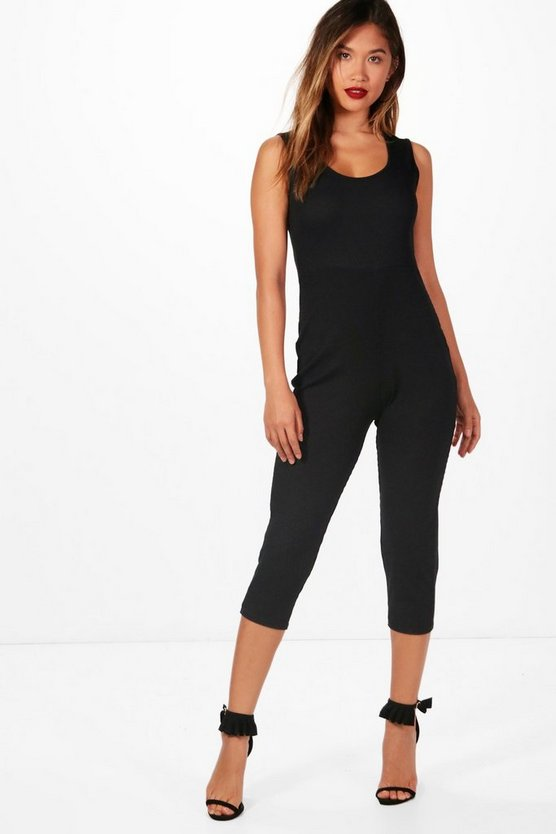 Sofia Rib Knit Lounge Jumpsuit