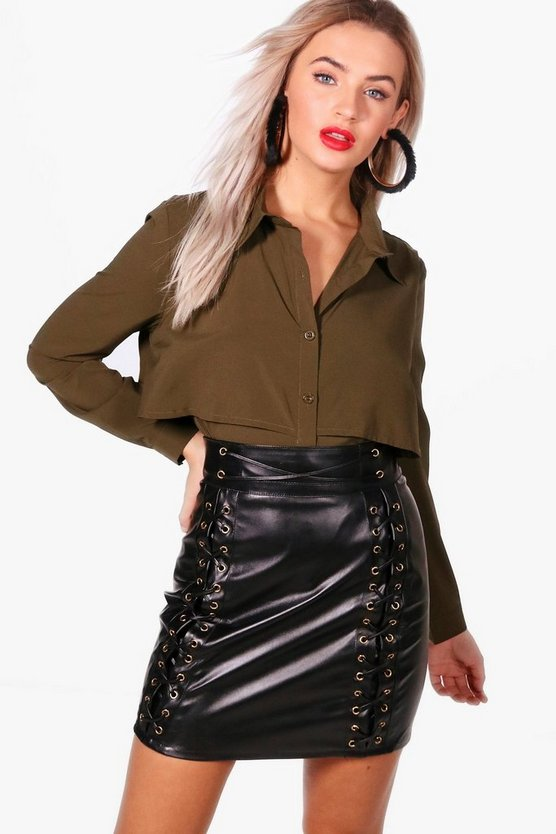 Willow Double Layer Military Shirt