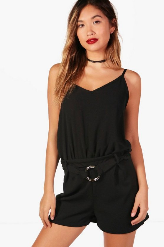 Rosie Belt Detail Playsuit