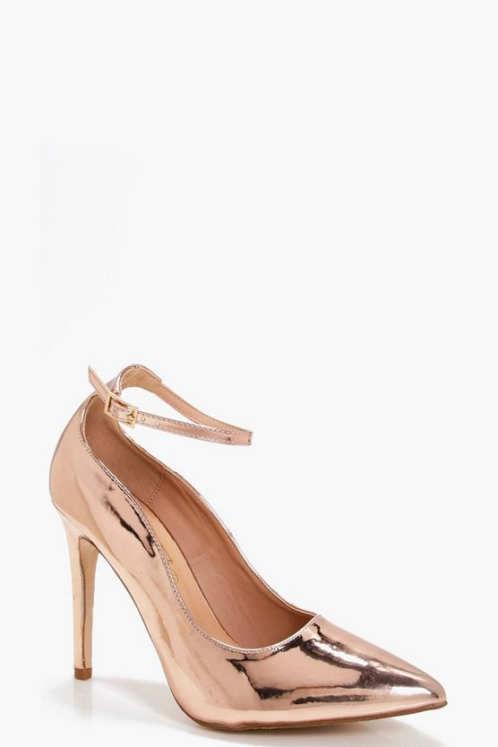 Millie Pointed Toe Ankle Band Courts