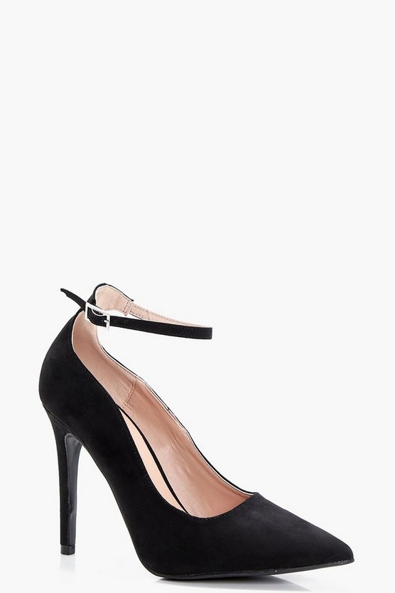 Jade Pointed Toe Ankle Band Court
