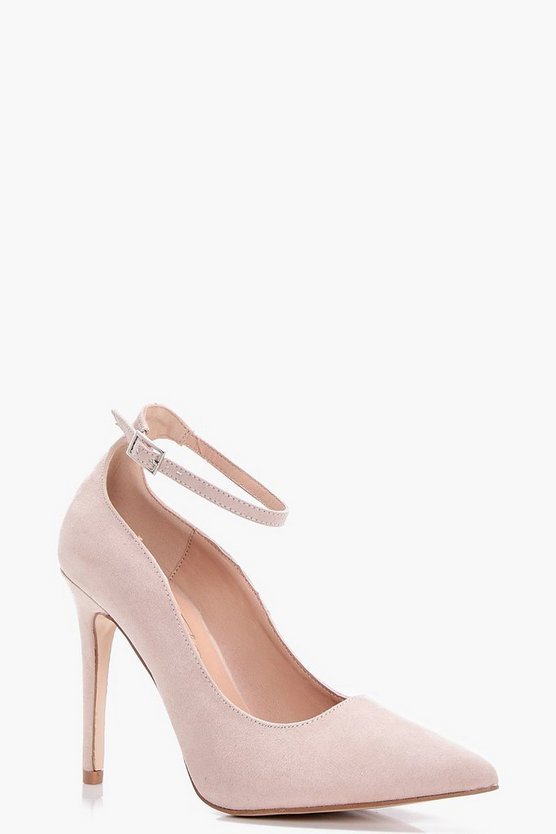 Jade Pointed Toe Ankle Band Courts