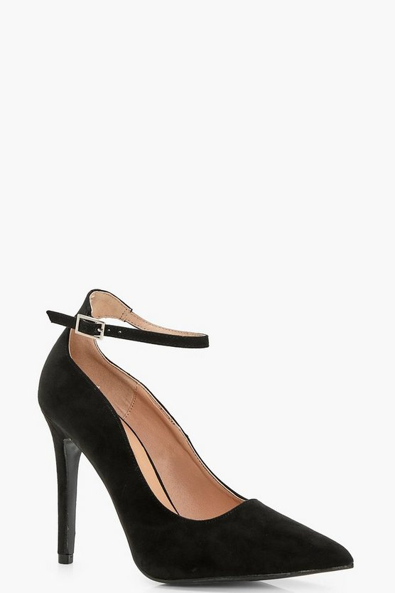 Lucy Pointed Toe Ankle Band Courts