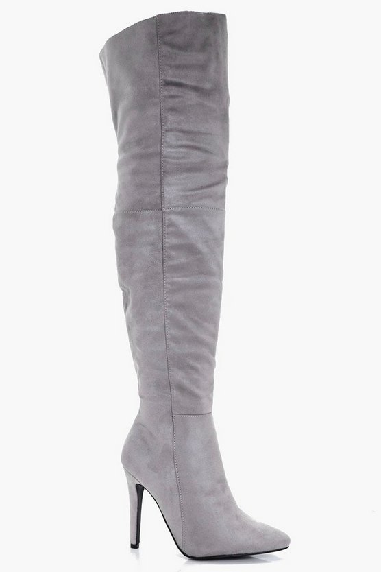 Bailey Pointed Toe Over the Knee Boots