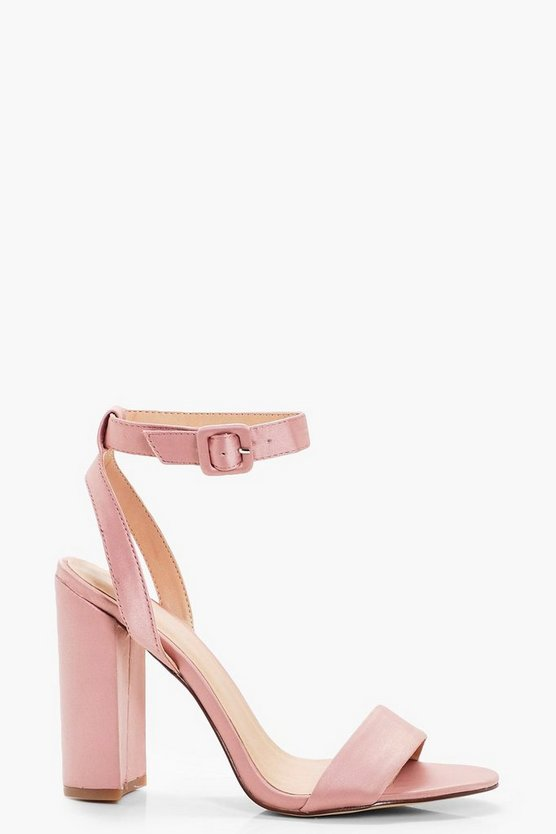 Sophie Wrap Ankle Cylinder 2 Part Heels