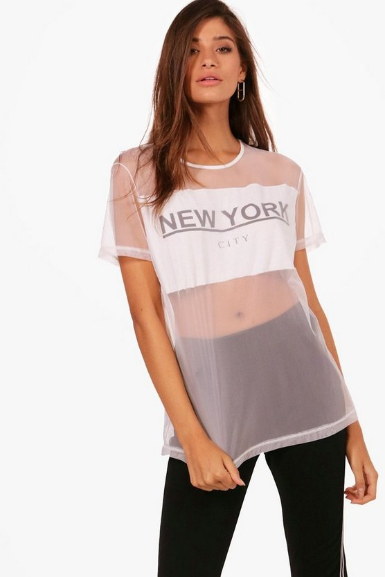 Taylor New York Mesh T-Shirt