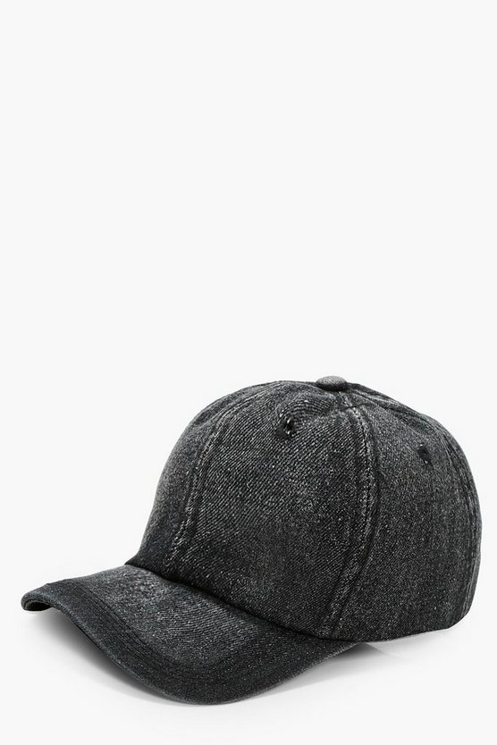 Annie Denim Baseball Cap