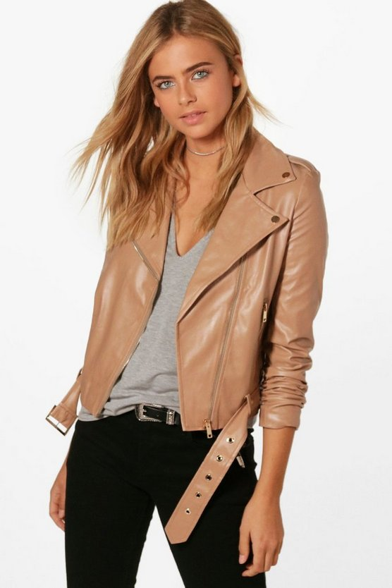 Faux Leather Vegan Biker