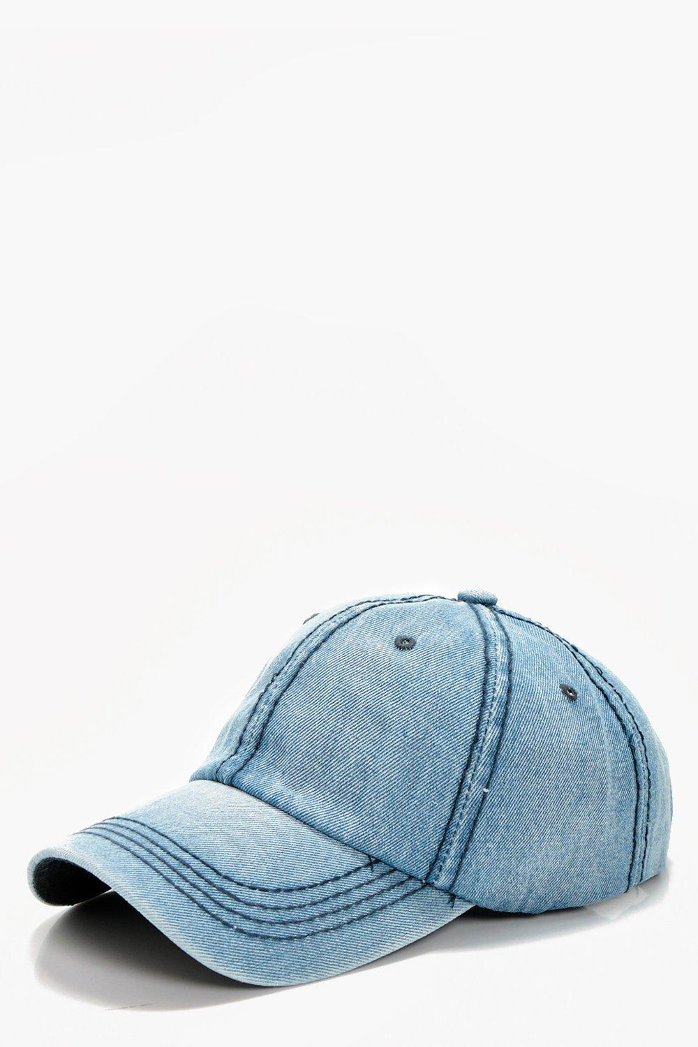 Denim Baseball cap - baby blue - Abigail Denim Bas