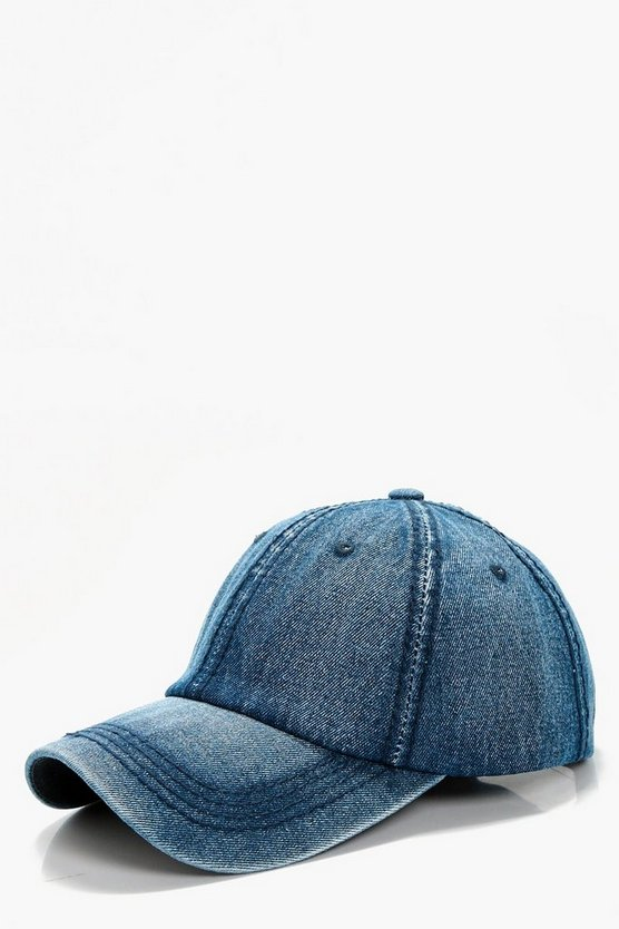 Abigail Denim Baseball cap