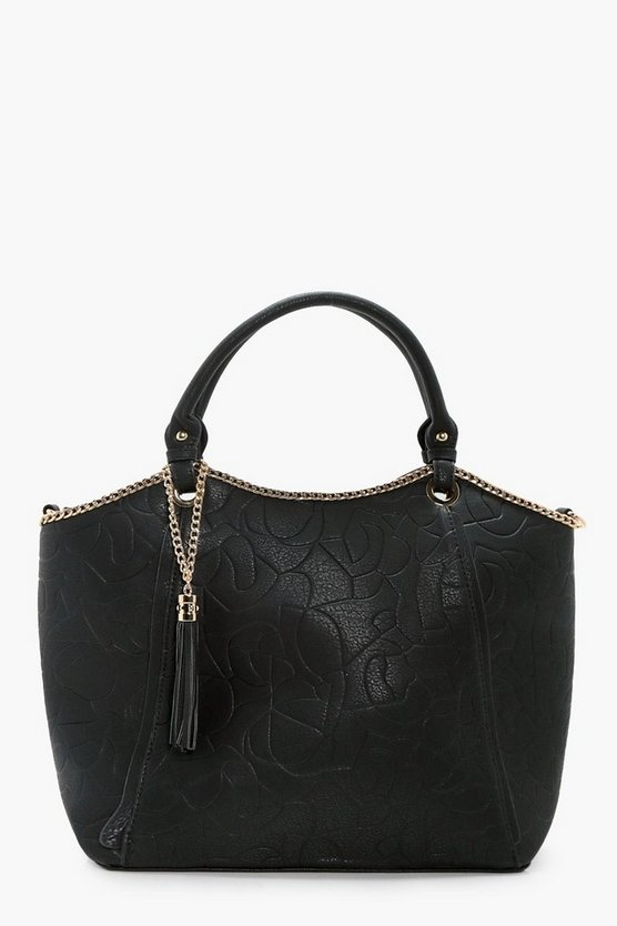 Isla Chain And Tassel Tote