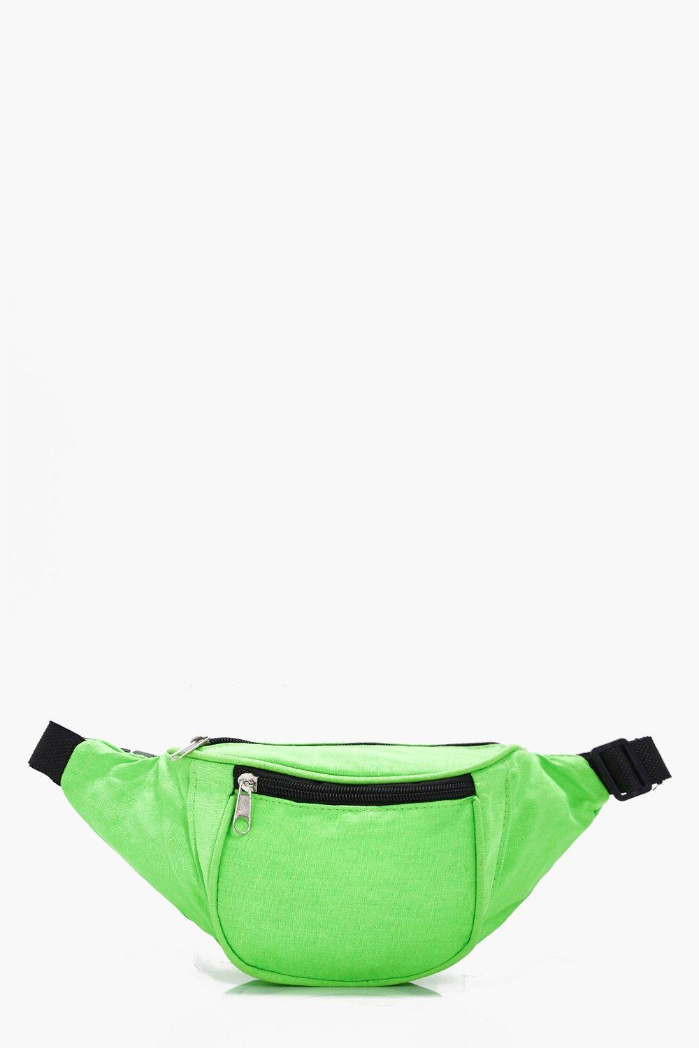 Bright Neon Bumbag - green - Katie Bright Neon Bum