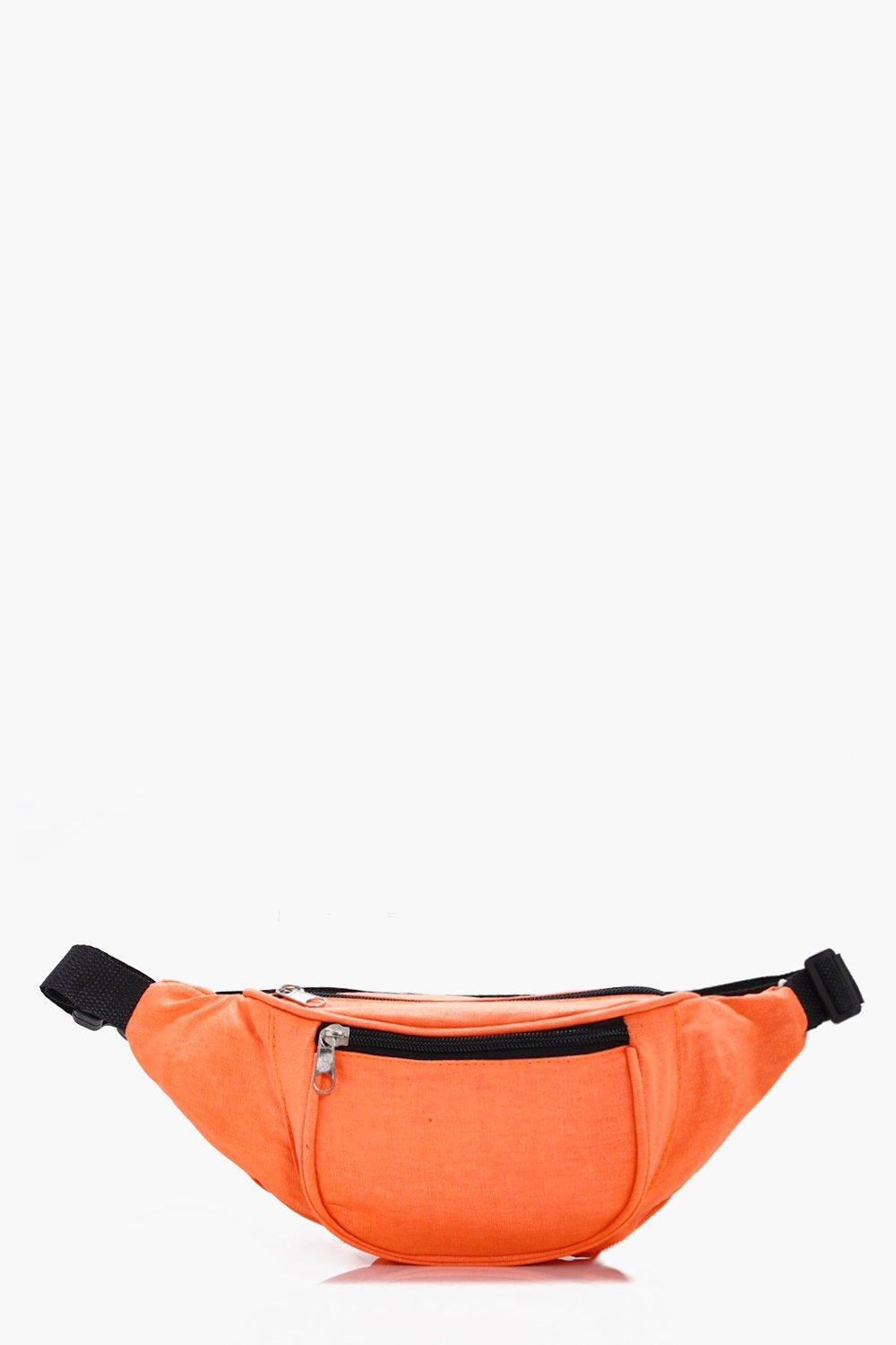 Bright Neon Bumbag - orange - Katie Bright Neon Bu