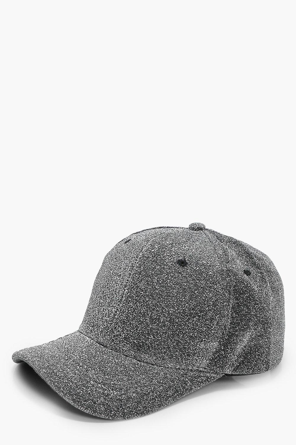 Lurex Baseball cap - grey - Lacey Lurex Baseball c