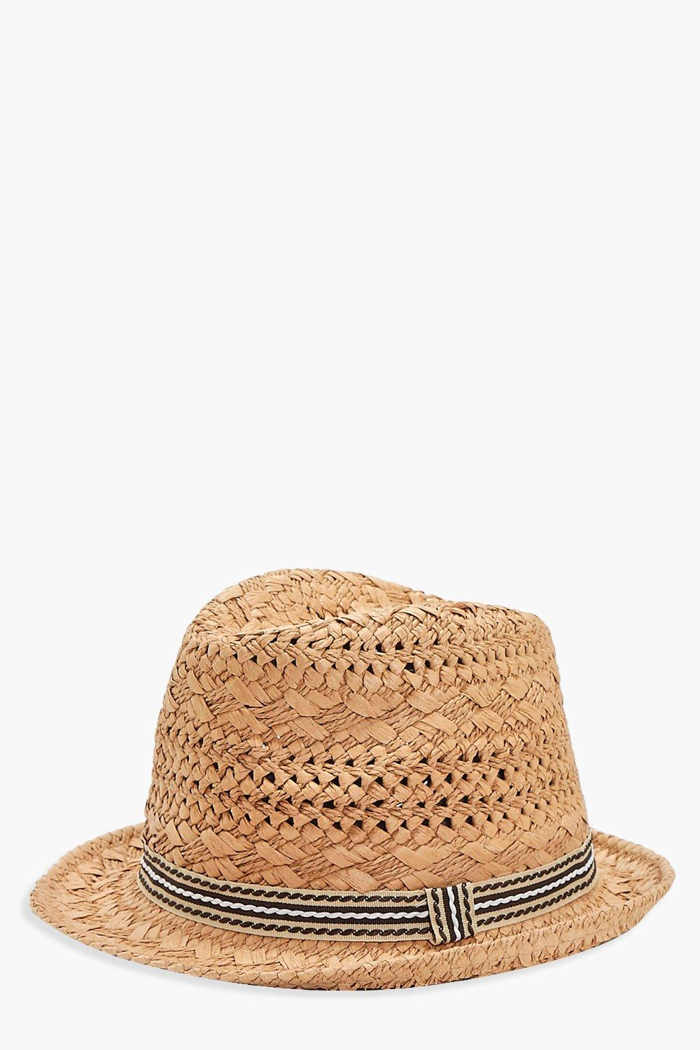 Friendship Bold Straw Hat - natural - Lola Friends