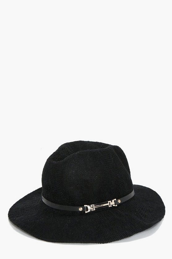 Harriet Metal Trim Fedora