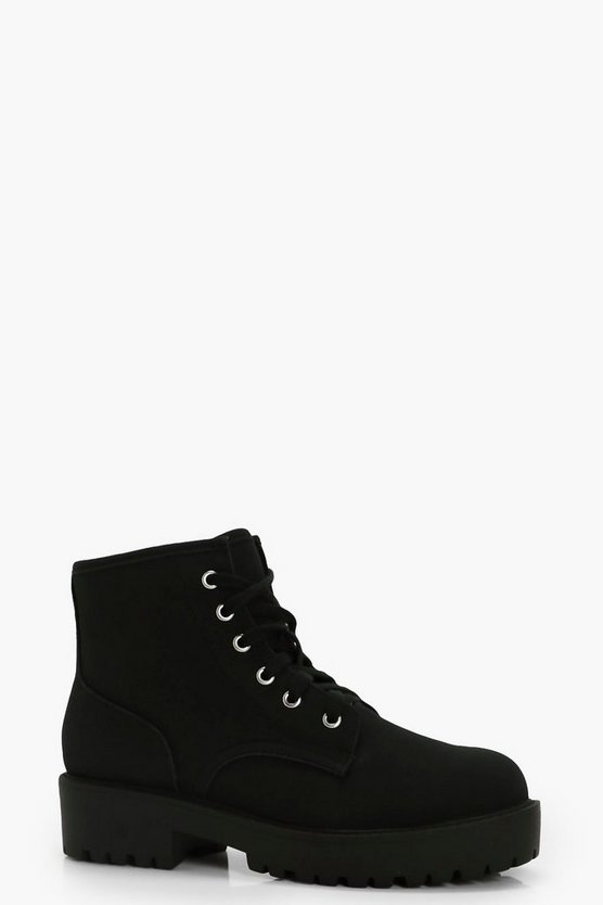 Alice Low Ankle Chunky Hiker Boots
