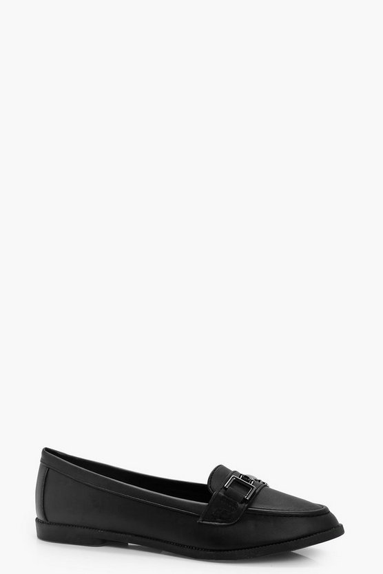 Lena Metal Trim Loafers