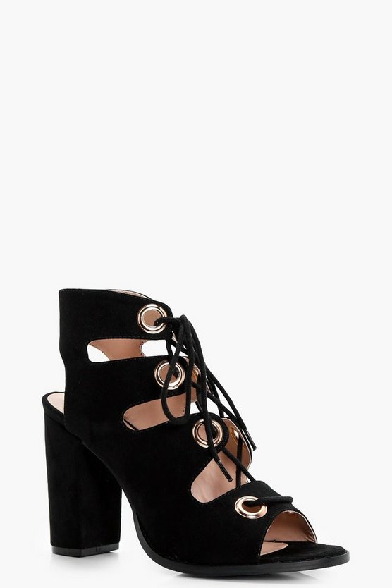 Sasha Ghillie Lace Up Heels