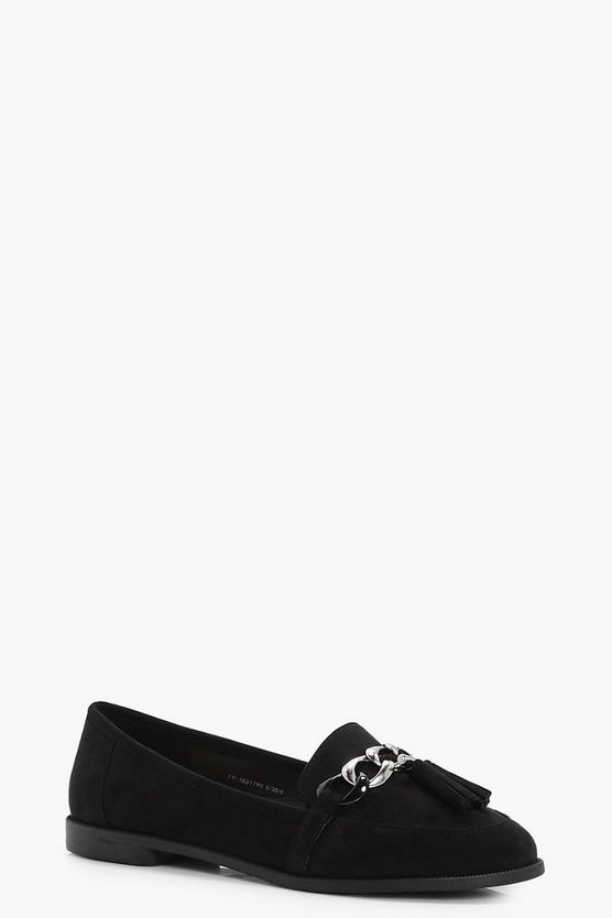 Sara Detail Tassel Loafer