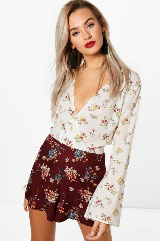 Bethany Floral Mix Playsuit