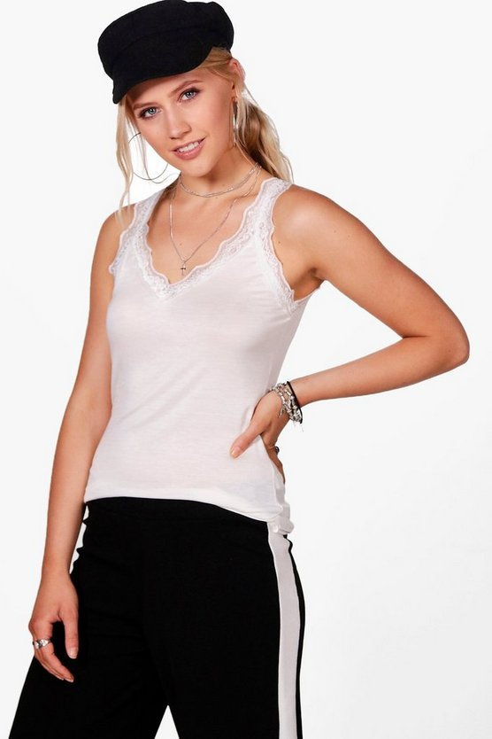Lilly Lace Insert Cami