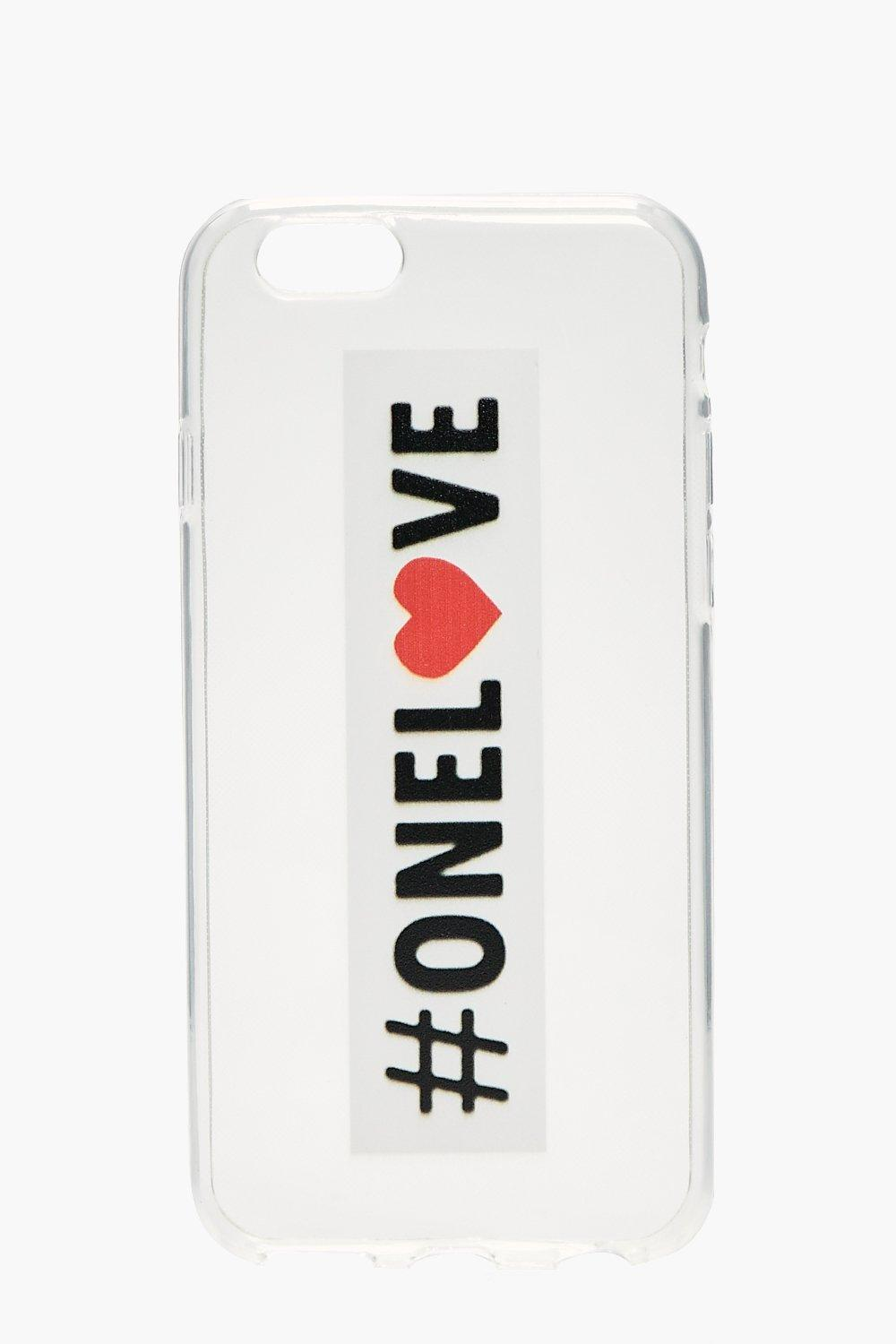 iPhone 6 Case One Love - white - Charity iPhone 6
