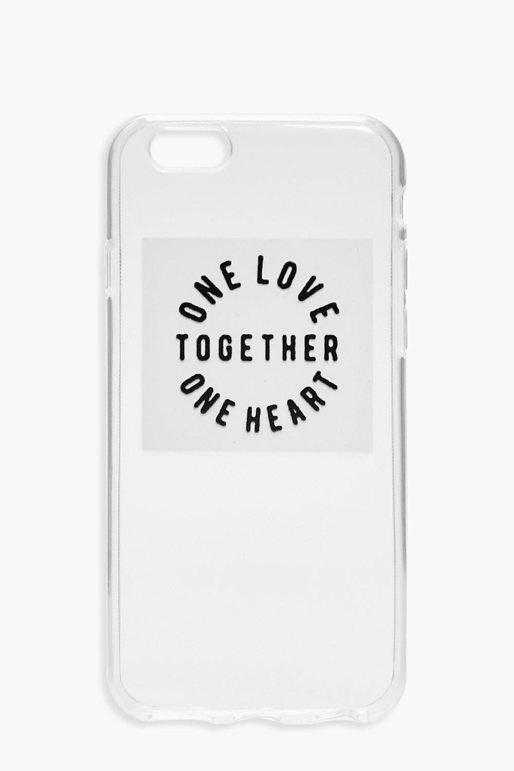 iPhone 6 Case - Together - white - Charity iPhone