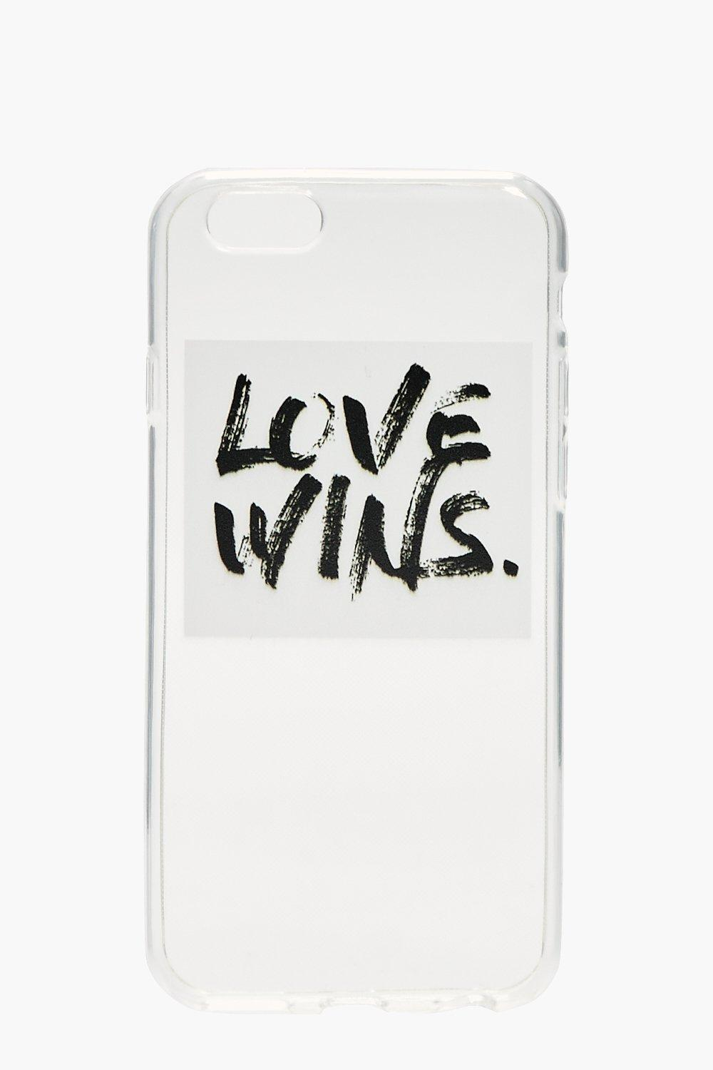 iPhone 6 Case Love Wins - white - Charity iPhone 6
