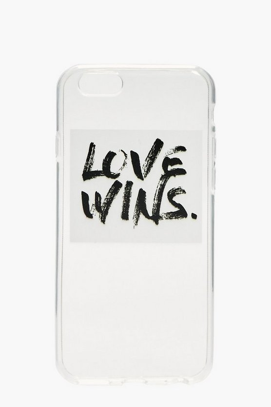 Charity iPhone 6 Case - Love Wins