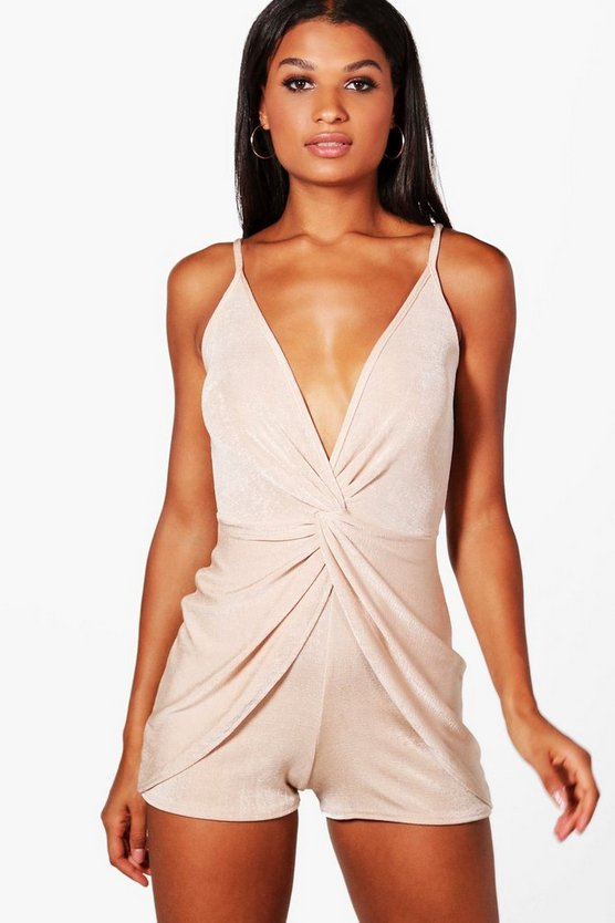Aimee Knot Front Playsuit
