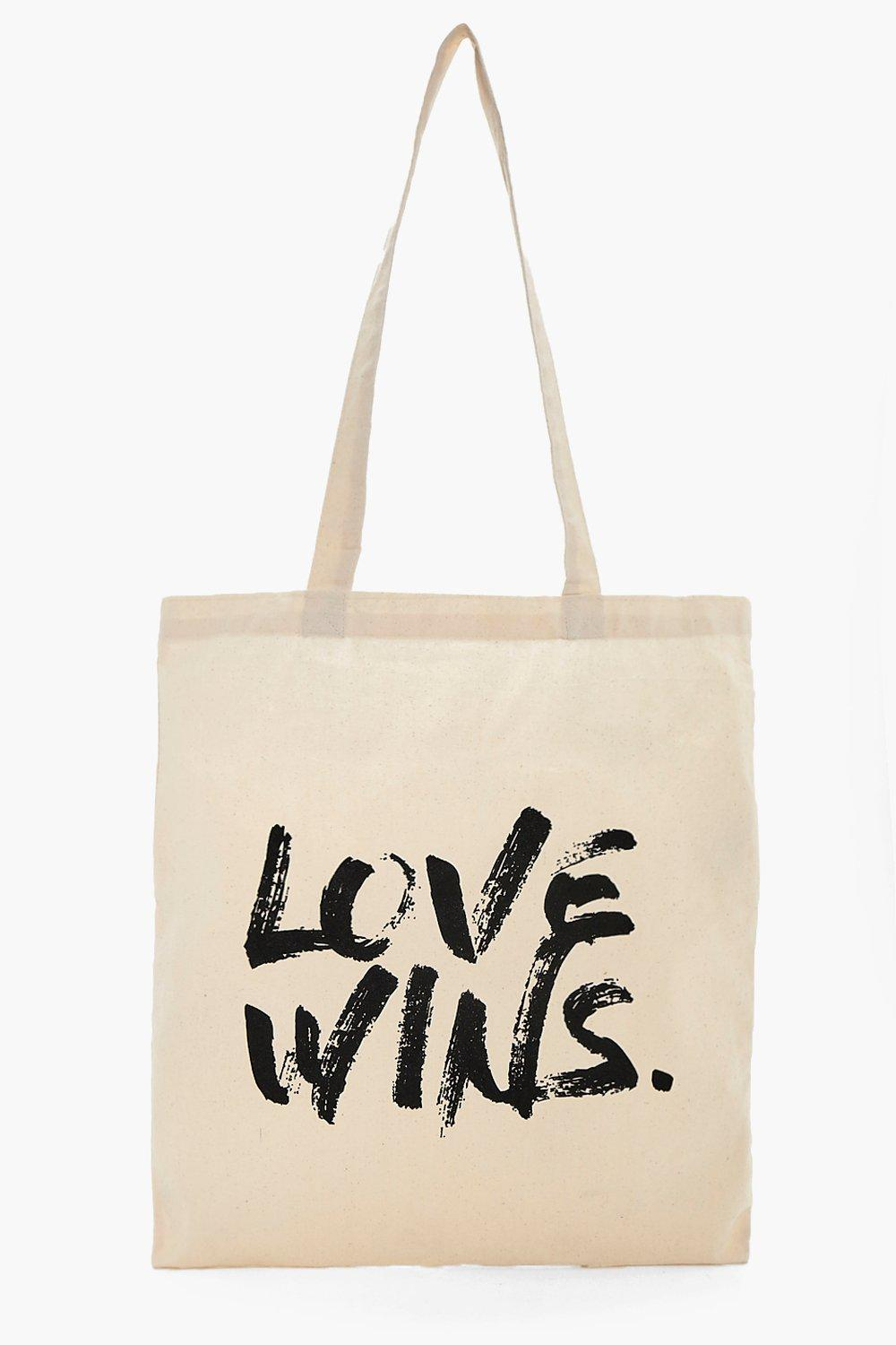 Bag - Love Wins - cream - Charity Bag - Love Wins
