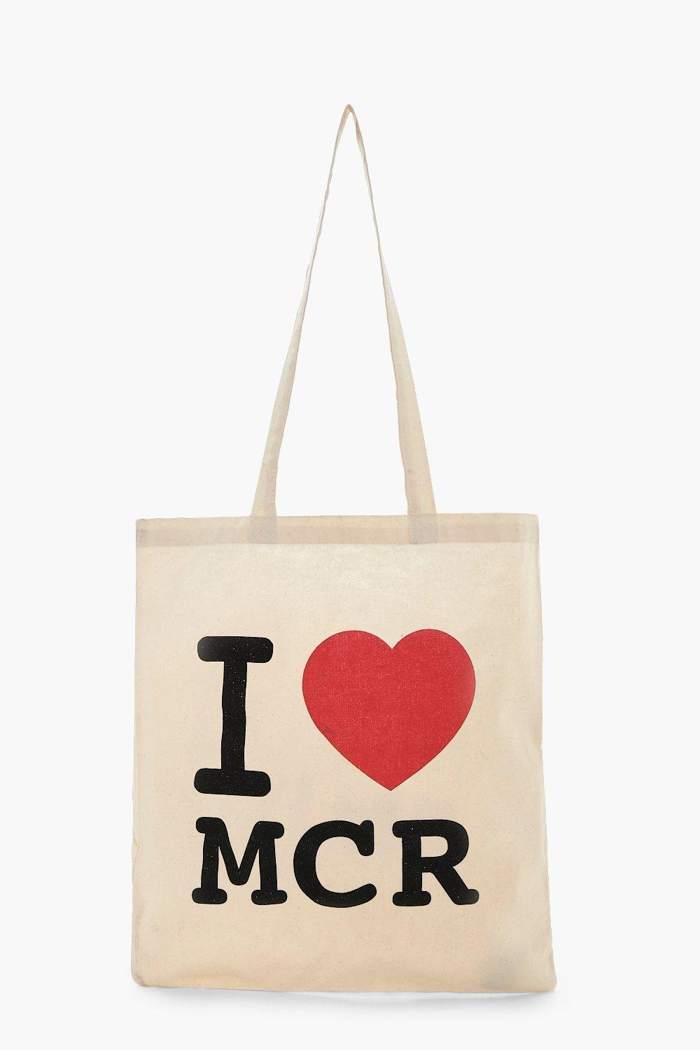 Bag MCR - cream - Charity Bag MCR - cream