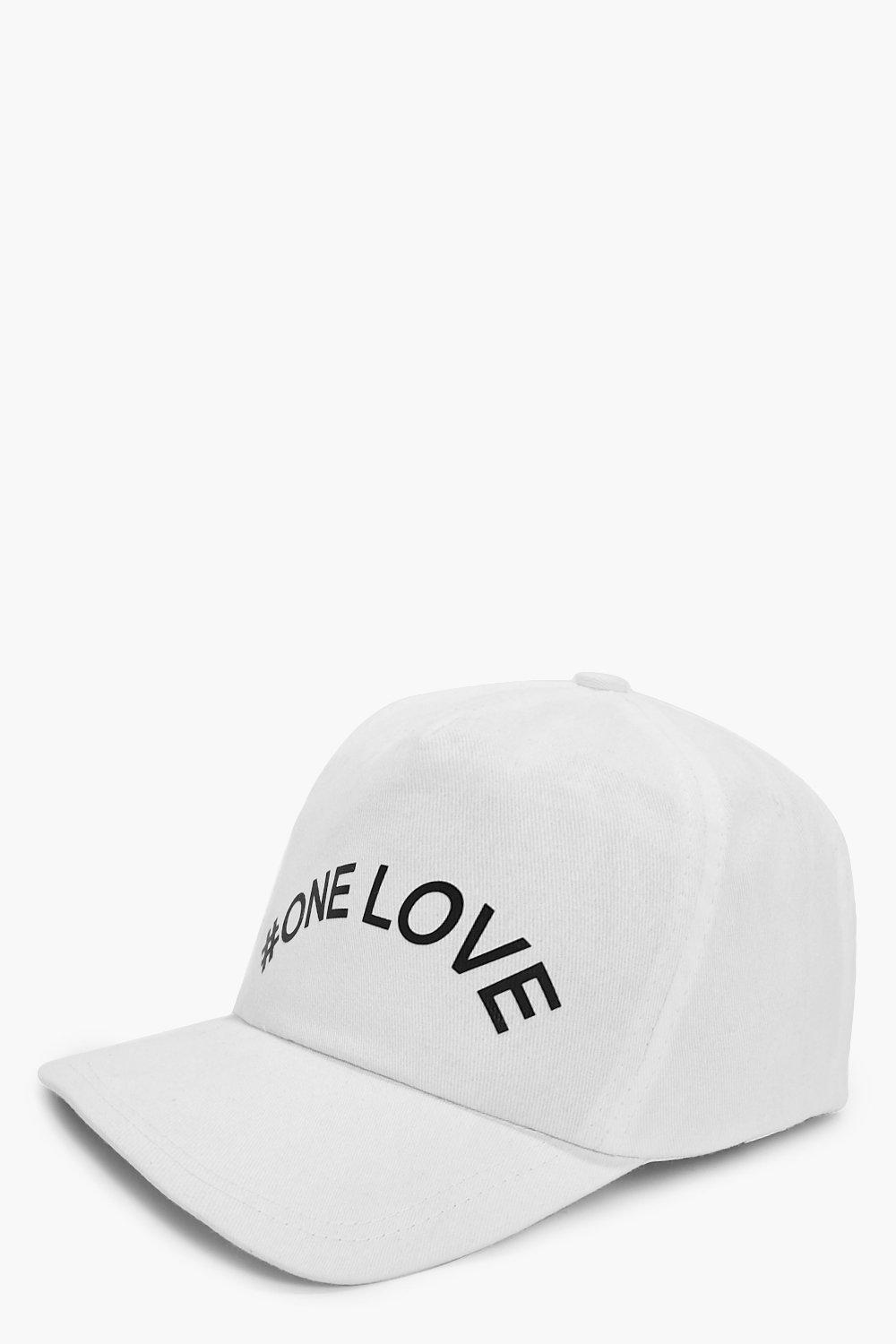 Cap - One Love - white - Charity Cap - One Love -