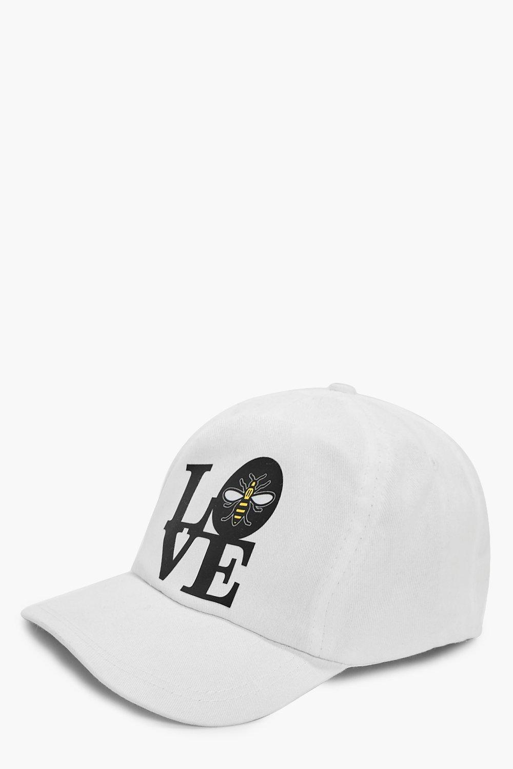 Cap - Love - white - Charity Cap - Love - white