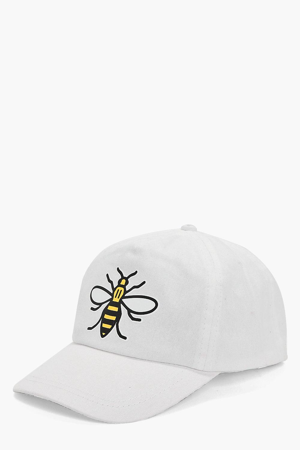 Cap - Bee - white - Charity Cap - Bee - white