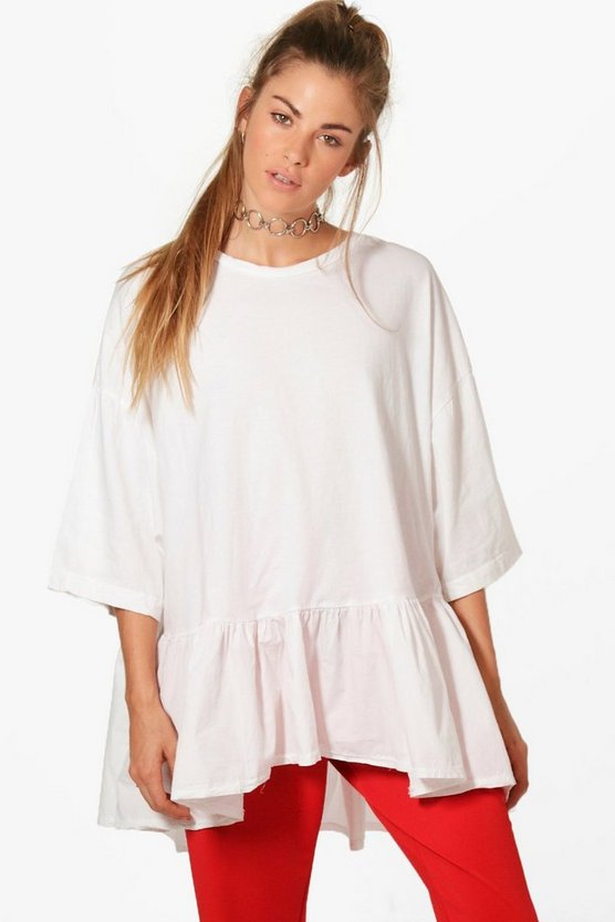 Holly Oversized Peplum Top