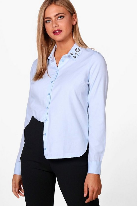 Emma Eyelet Collar Shirt