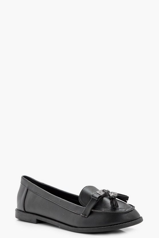 Emilia Tassel Trim Loafer