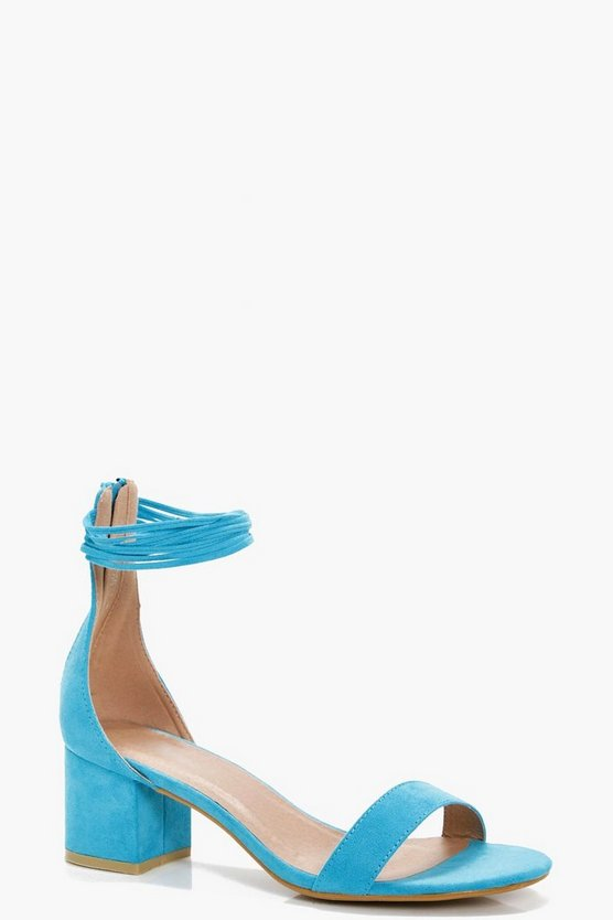 Millie Multi Ankle Band Block Heels