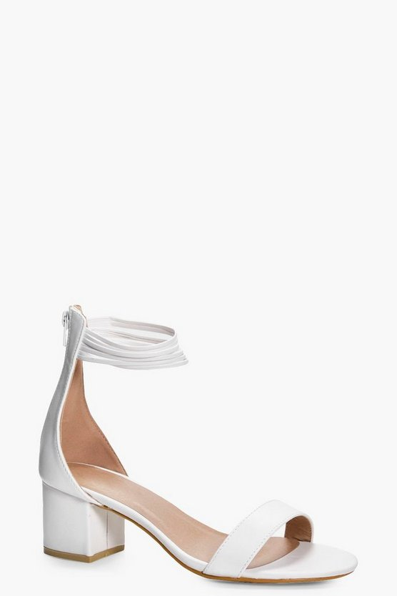 Imogen Multi Ankle Band Block Heels