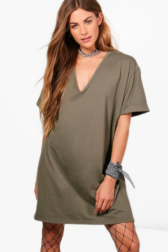 Nadia Oversized Box Tee Dress