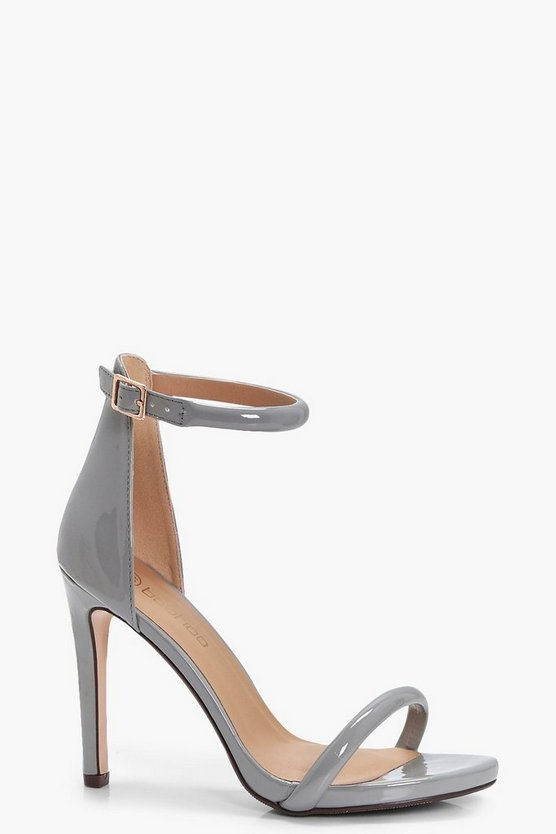 Rita Wide Fit Patent 2 Part Heels