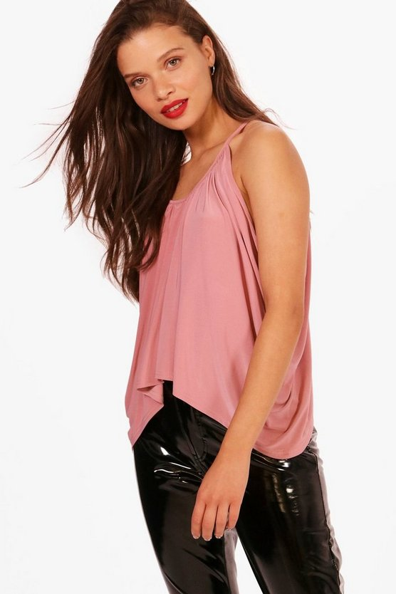 Isobel Ruched Drop Arm Cami