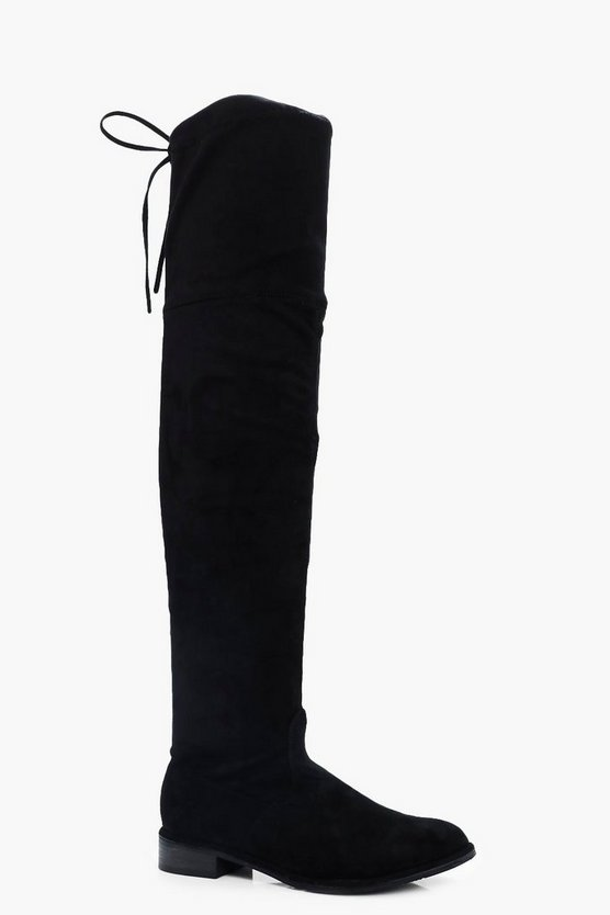 Julie Flat Thigh High Boots