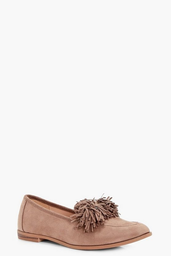 Phoebe Tassel Trim Loafer