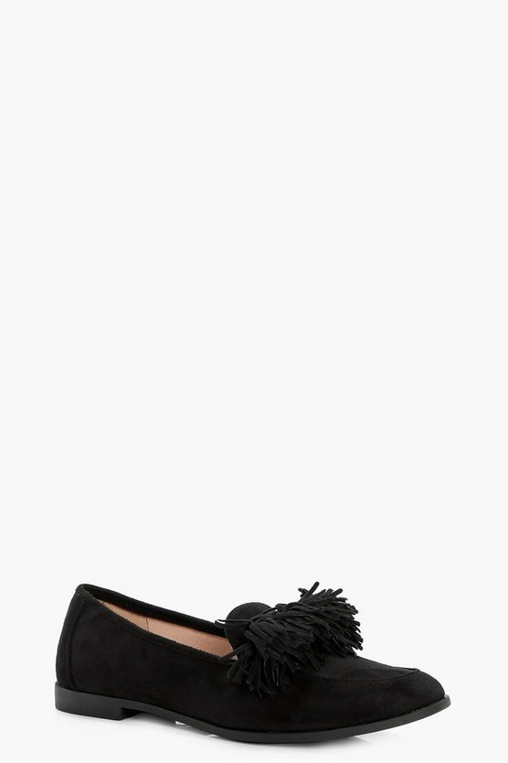Lucy Tassel Trim Loafer