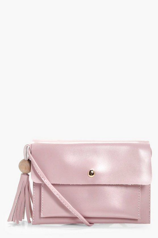 Eliza Popper And Tassel Cross Body