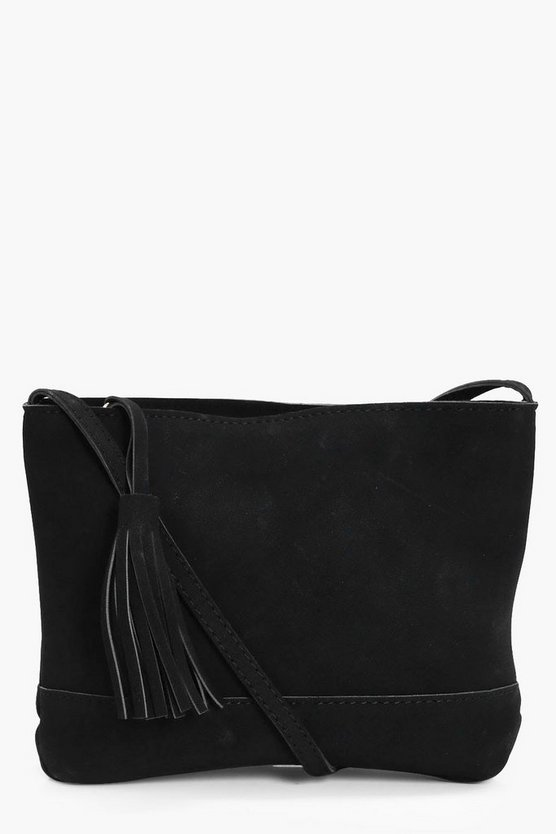 Amy Tassel Cross Body Bag